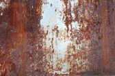 Ржавчина на поверхности металла — Стоковое фото