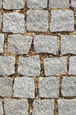 Stone pavement on urban alley — Stock Photo