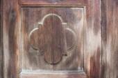 Wooden real texture on old door — Stock Photo