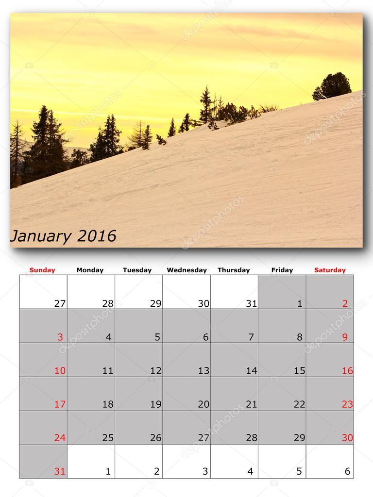 Картинки из календаря природы