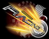 RACING CONCEPT VECTOR — Stock Vector