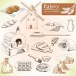 Постер, плакат: Bakery products