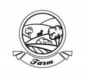 Farmland — Stock Vector