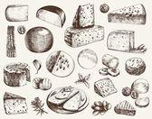 Cheesemaking — Stock Vector