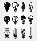 Light bulbs — Stock Vector