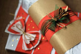 Gift decorated — Foto Stock