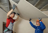 Drywall Installers — Stock Photo