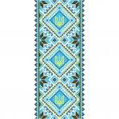 刺绣。乌克兰国家装饰 — Vector de stock