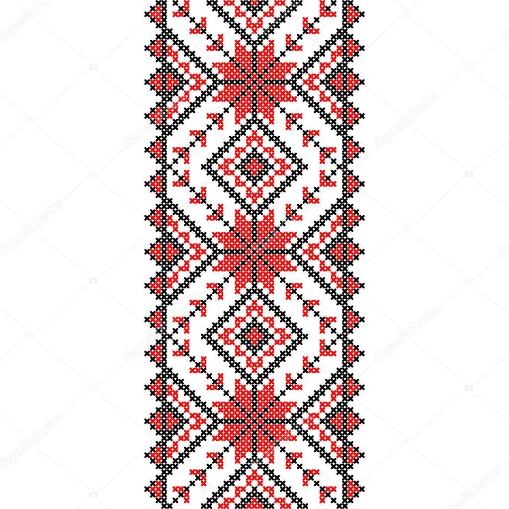 Узоры в украинских вышивках 49