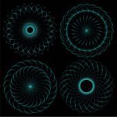 Spirograph — Stock Vector