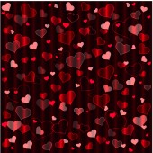 Red Hearts — Stock vektor