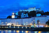 Evening Salzburg, Austria — Stock Photo