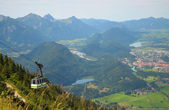 Cableway in the Alps, Germany — Stock Photo