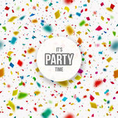 Its Party Time — Stock Vector