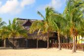 Beach restaurant in Cayo Coco — Stock Photo