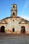Destroyed church in Trinidad — Stock Photo