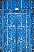 Detail of doors in Trinidad — Stock Photo