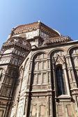 View of Basilica di Santa Maria del Fiore in Florence — Stockfoto