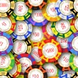 Casino Chips Background — Stock Photo #55377559