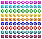 Bingo Balls — Stock Vector
