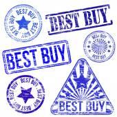 Best Buy Stamps — Stock Vector