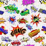 Cartoon Explosions Background — Stock Vector #64226101