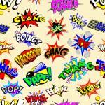 Cartoon Explosions Wallpaper — Stock Vector #77626042