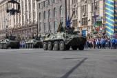Parade in Kiev — Stock Photo