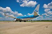 KLM Boeing 737 — Stock Photo