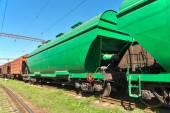 Grain transportation — Stock Photo