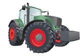 Vector tractor — Stock Vector