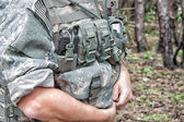 US Soldier's Gear — Stock Photo