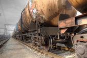 Нефтяная транспортировка — Стоковое фото