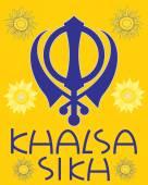 Khalsa greeting — Stock Vector