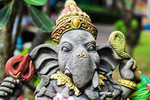 An Ganesha made of stone in bali . — Stockfoto
