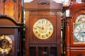 Antique Clock old time passing — Stock Photo