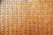 Woven palm leaves texture — Stock Photo