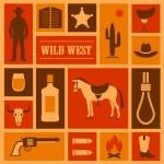 Western cowboy — Stock Vector #64118449