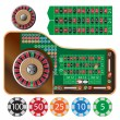 Roulette table — Stock Vector #61734407