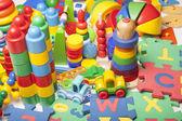 Very many toys — Stock Photo