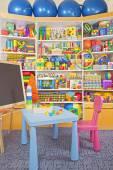 школьный стол — Стоковое фото