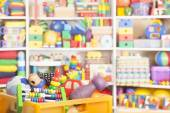 Box with toys — Stock Photo
