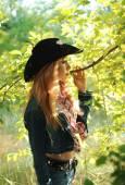 Jovem mulher bonita — Fotografia Stock