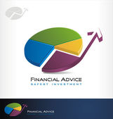 Financial advisor — Stock Vector