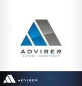 Finance adviser — Stock Vector