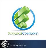 Finance logo — Stock Vector