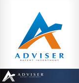 Advice logo vector — Stock Vector
