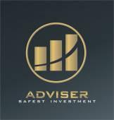 Adviser logo vector — Stock Vector