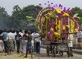 Funeral procession in Gingee, Tamil Nadu. — Stock Photo