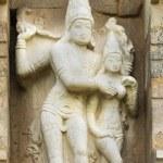 Lord Shiva and Devi Parvati statue. — Stock Photo #65717719